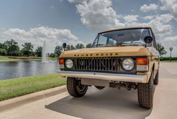 Range Rover Classic Touring Rally Car bahama gold