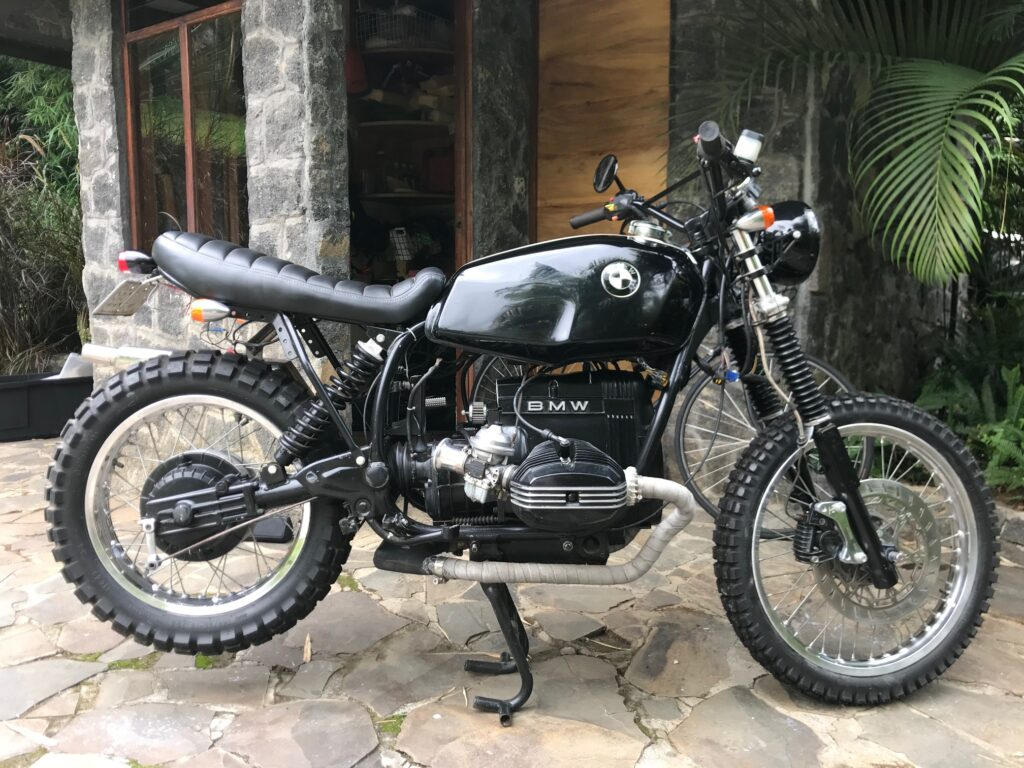 BMW R80 G/S Classic Rally Motorcycle