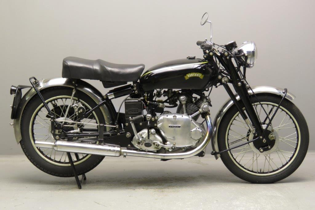 Vincent Comet 1952 Classic Rally Motorcycle