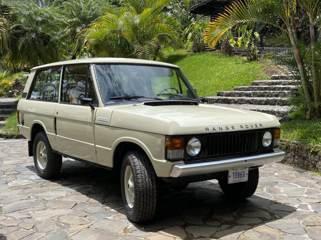 Classic Rally Cars Range Rover Touring