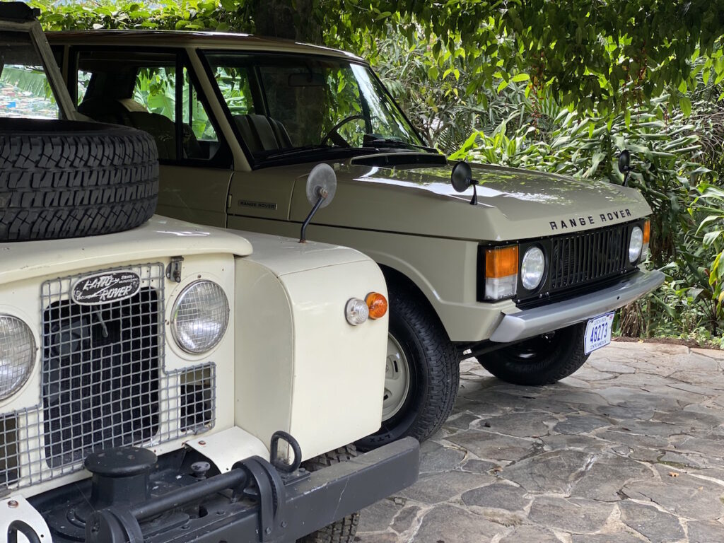 Land Rover Series 2 1968 Classic Rally Car
