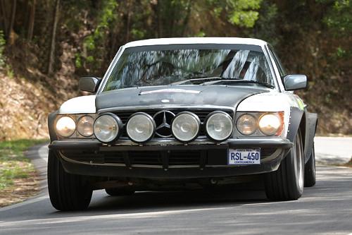Mercedes Benz 450SL Classic Rally Cars