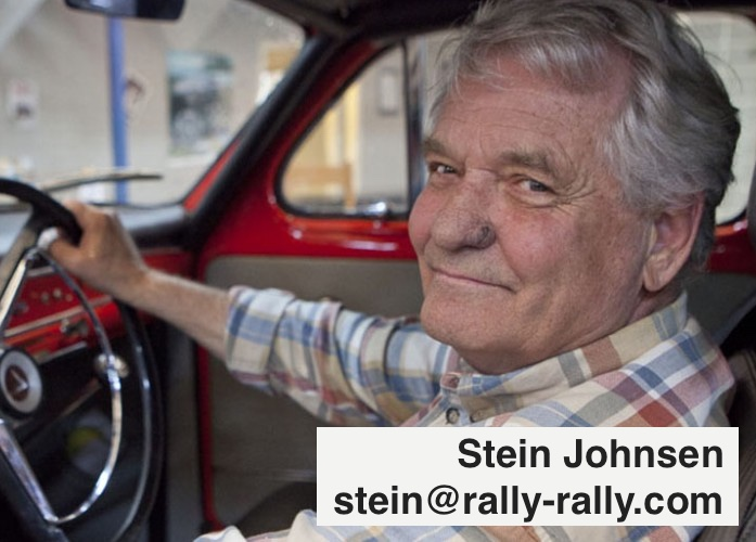 Stein Johnsen The Volvo and Porsche Specialist from Equis Rally Touring Team