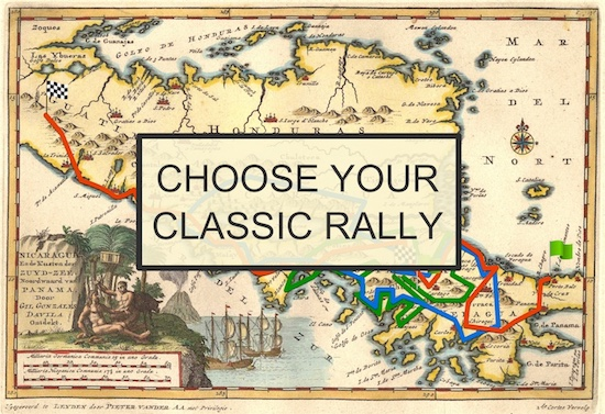 Choose your classic rally Central America