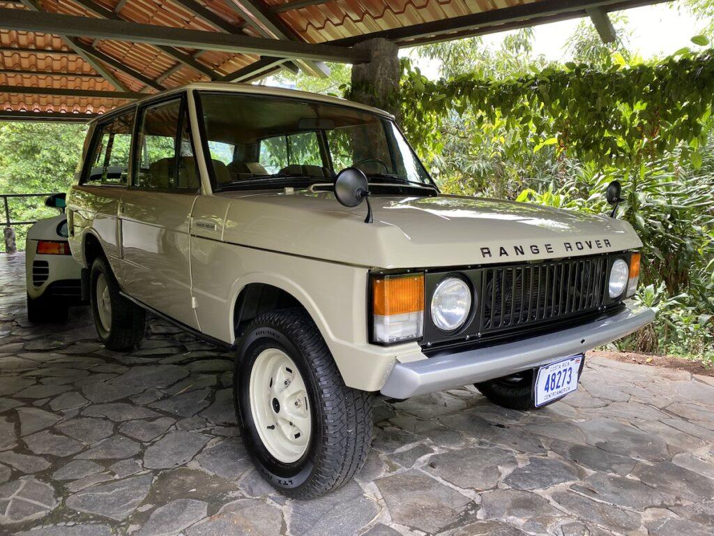 Range Rover Classic Porsche 959 Costa Rica